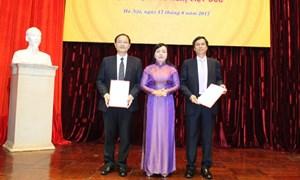 Bổ nhiệm hai Phó Giám đốc Bệnh viện Hữu nghị Việt Đức