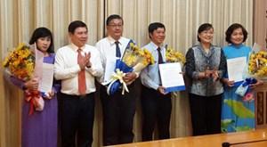 Bổ nhiệm nhân sự Văn phòng Đoàn ĐBQH và HĐND TP HCM