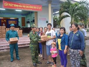 Bộ quốc phòng cứu trợ khẩn cấp cho các vùng bị ngập lụt