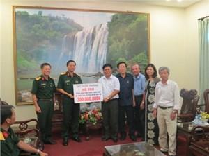 Bộ Quốc phòng hỗ trợ đồng bào bị  lũ lụt Thừa Thiên - Huế