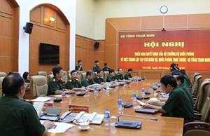 Bộ Quốc phòng quyết định sáp nhập 4 tạp chí Quân đội
