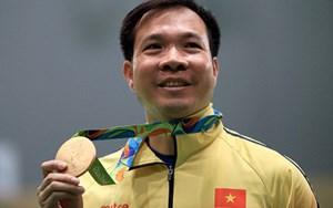 Bộ Quốc phòng vinh danh xạ thủ Hoàng Xuân Vinh