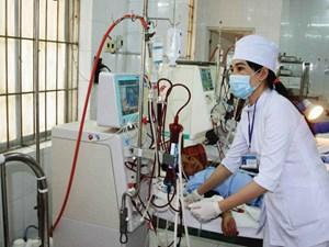 Bổ sung máy chạy thận cho Bệnh viện đa khoa TP Hòa Bình