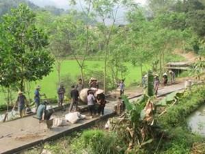 Bổ sung vốn làm đường giao thông tại Sơn La