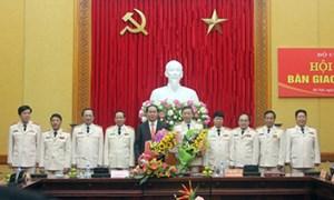 Bộ trưởng Bộ Công an nhận bàn giao nhiệm vụ