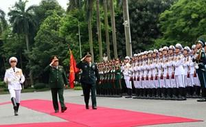 Bộ trưởng Bộ Quốc phòng Trung Quốc thăm chính thức Việt Nam