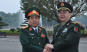 Bộ trưởng Quốc phòng Việt Nam - Trung Quốc  bàn về Biển Đông