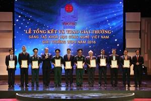 Bốn công trình của ngành Dầu khí được trao giải VIFOTEC 2016