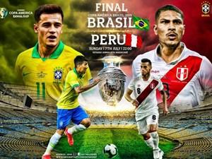 [Infographics] Copa America: Brazil muốn lặp lại màn hủy diệt Peru 5-0