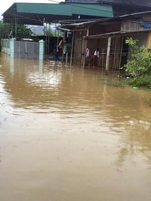 Bức xúc vì không được nhận tiền hỗ trợ bão lụt