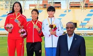 Bùi Thị Thu Thảo giành HC vàng ở giải vô địch điền kinh châu Á
