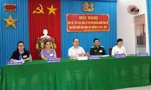 Các ứng cử viên tiếp xúc cử tri tại Trà Vinh