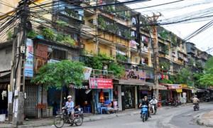 Cải tạo chung cư cũ tại Hà Nội: Chờ chốt phương án