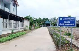 Cẩm Phả (Quảng Ninh):Hoàn thành nhiệm vụ xây dựng nông thôn mới