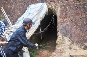 Cận cảnh 'hầm xuyên núi' của Bí thư huyện Tây Giang