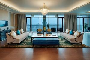 Cận cảnh phòng Tổng thống rộng 1.000 m2 tại khu quần thể có tầm nhìn đẹp nhất Hạ Long