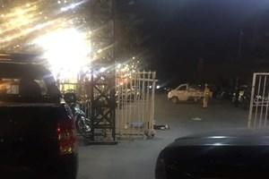 Cảnh sát Hình sự Hà Nội đang điều tra vụ lái xe taxi bị cứa cổ gần SVĐ Mỹ Đình