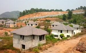 'Cạo trọc' đồi xanh, xây biệt thự bỏ hoang
