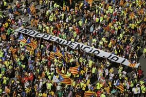 Catalonia đòi Tây Ban Nha trưng cầu ý dân về độc lập
