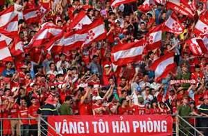 CĐV Hải Phòng lách luật cấm đến sân khách ở vòng 16 V-League