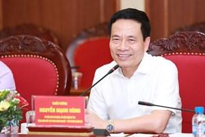 Chân dung tân Bộ trưởng Bộ TT-TT Nguyễn Mạnh Hùng