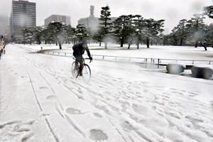 Châu Á chìm trong đợt giá lạnh kỷ lục