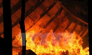 Cháy lán trên nương, cháu bé 9 tuổi tử vong