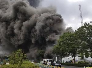 Cháy lớn tại công trình xây dựng ở Nhật, 5 người chết