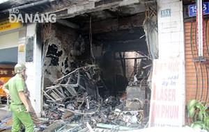 Cháy nổ ở Đà Nẵng có diễn biến phức tạp