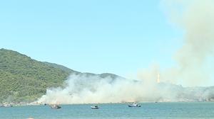 Đà Nẵng: Cháy ở Khu bảo tồn thiên nhiên Sơn Trà