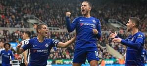 Chelsea thắng nghẹt thở, Real chiếm ngôi đầu