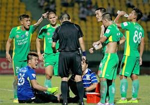 Chí Công có thể bị treo giò 2 trận vì màn giẫm đạp cầu thủ U20 Việt Nam