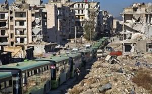 Chiến dịch sơ tán ở Aleppo được nối lại
