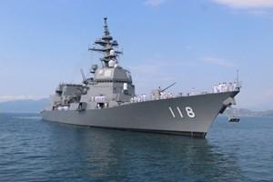 Chiến hạm Nhật Bản, Thái Lan thăm Việt Nam