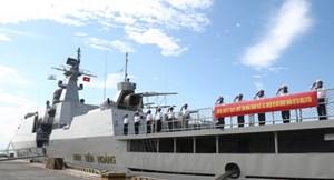 Chiến hạm Việt Nam dự Triển lãm Hàng hải, Hàng không quốc tế 2017