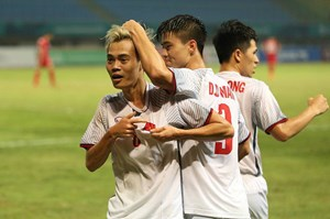 Chiến thắng lịch sử 1-0: Olympic Việt Nam - Olympic Syria