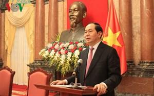 Chủ tịch nước gặp BLL cựu chuyên gia Việt Nam giúp cách mạng Campuchia