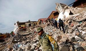 Chủ tịch nước gửi Điện thăm hỏi về vụ động đất ở Mexico