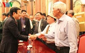 Chủ tịch nước họp mặt Ban liên lạc các chiến sĩ cách mạng bị tù đày