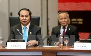 Chủ tịch nước Trần Đại Quang tham dự cuộc họp cấp cao TPP lần thứ 7