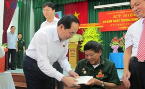 Chủ tịch nước Trần Đại Quang: Thấm nhuần đạo lý 'Uống nước nhớ nguồn'