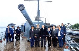 Chủ tịch nước Trần Đại Quang thăm Saint Petersburg