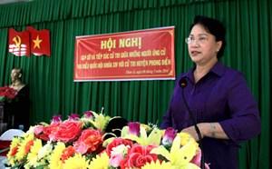 Chủ tịch QH: Cơ quan dân cử sẽ bảo vệ quyền lợi nhân dân