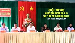 Chủ tịch QH Nguyễn Thị Kim Ngân: Giám sát chặt môi trường tại Nhà máy giấy Lee&Man