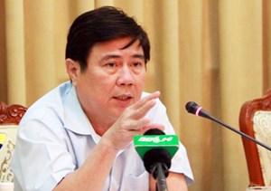 Chủ tịch TP HCM: 'Tôi nhắc anh Hải làm quyết liệt nhưng phải đúng luật'