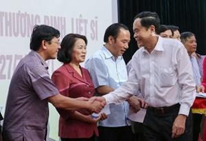 Chủ tịch Trần Thanh Mẫn: Đền ơn đáp nghĩa là nhiệm vụ thường xuyên, liên tục