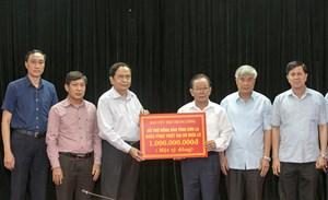 Chủ tịch Trần Thanh Mẫn: 'Dứt khoát không để hộ dân nào phải chịu đói, chịu rét'