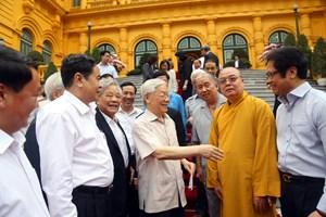 Chung sức, chung lòng tập hợp khối đại đoàn kết toàn dân tộc
