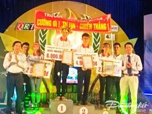 Chương trình 'Học trò xứ Quảng' thí sinh Trần Quốc Cường vào vòng chung kết