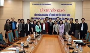 Chuyển giao Văn phòng Đoàn ĐBQH Quảng Ninh về UBND tỉnh